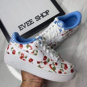 Nike Air Force 1 🍒🍒🍒 Cherry